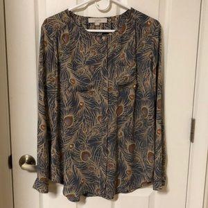 Loft maternity blouse